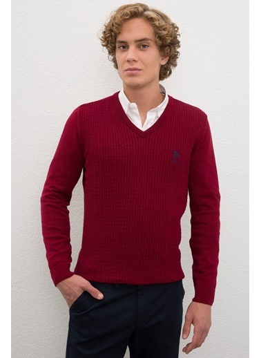 U.S. Polo Assn. Kazak Bordo